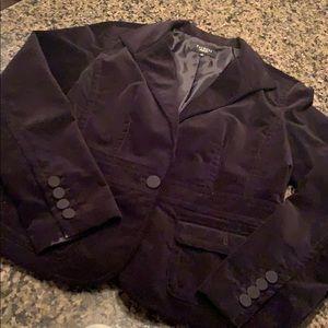 🖤Talbots black velvet blazer 10 🖤